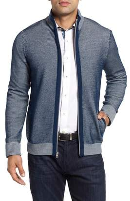 Robert Graham Conboy Classic Fit Zip Sweater