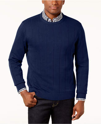 Club Room Men's Ribbed Sweater