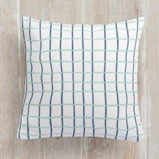 Simple Plaid Self-Launch Square Pillows