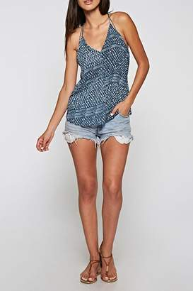 Love Stitch Lovestitch Double Tie Tank