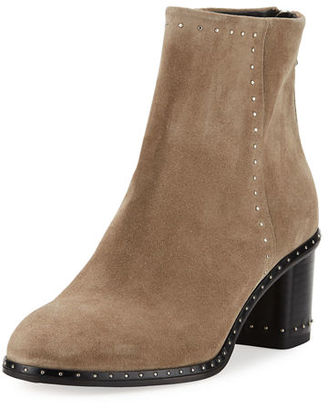 Rag & Bone Willow Studded Leather Ankle Boot $550 thestylecure.com