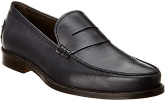 Tod's Leather Penny Loafer