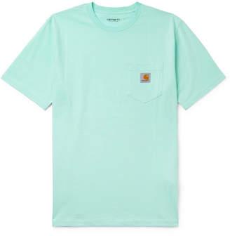 Carhartt WIP Logo-Appliquéd Cotton-Jersey T-Shirt