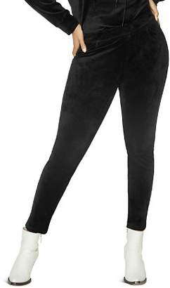 Sanctuary Curve Grease Velour Leggings