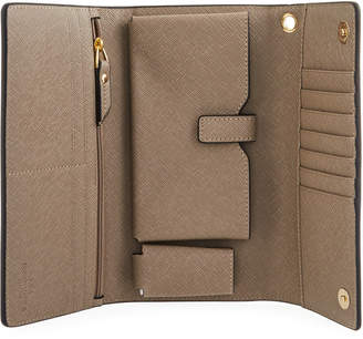 Neiman Marcus Day Out Saffiano Clutch Bag