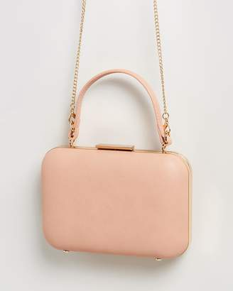 Olga Berg Ruby Top Handle Cross-Body Bag