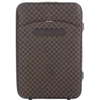 Louis Vuitton Pegase Brown Leather Travel Bag