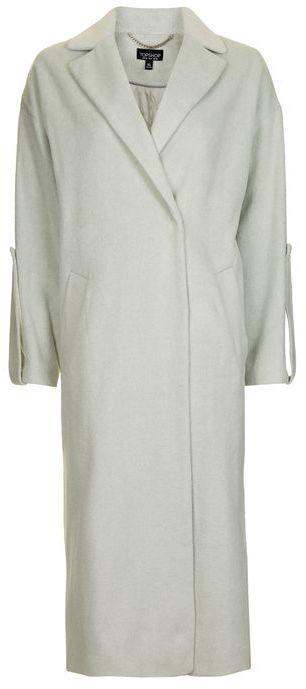 TopshopTopshop Longline tab slouch coat