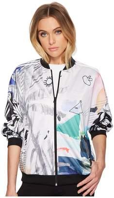 adidas Oversized Passinho Track Jacket Women's Coat