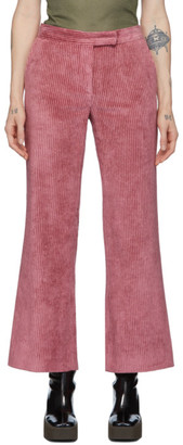 Marina Moscone Pink Corduroy Trousers