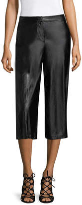 BCBGeneration Cropped Faux Leather Pant