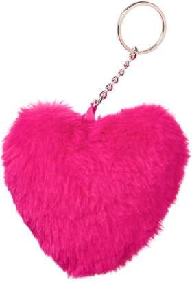 Crazy 8 Crazy8 Pom-Pom Heart Keychain