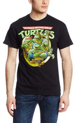 Nickelodeon Men's Ninja Turtles Group T-Shirt