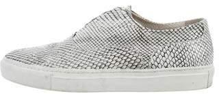 Sartore Snakeskin Slip On Sneakers