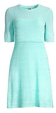 M Missoni Women's Lurex Solid Dress