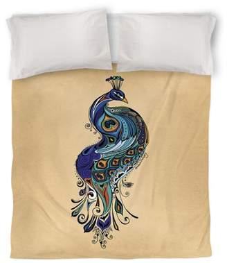 IDG Peacock Duvet Cover