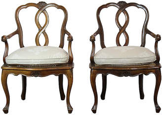 One Kings Lane Vintage Pair of Louis XV Style Chairs