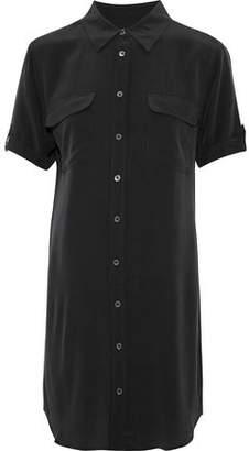 Equipment Slim Signature Washed-Silk Mini Shirt Dress