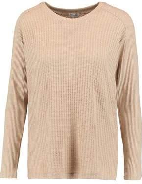 Splendid Paneled Waffle-Knit Sweater
