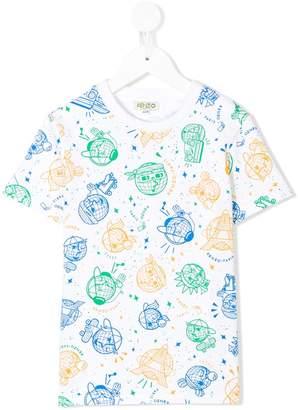 Kenzo multi-icon T-shirt