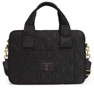 Marc Jacobs 13-Inch Commuter Computer Bag - Black $160 thestylecure.com