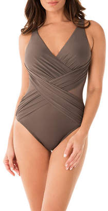 Miraclesuit Illusionist Crossover One-Piece Swimsuit