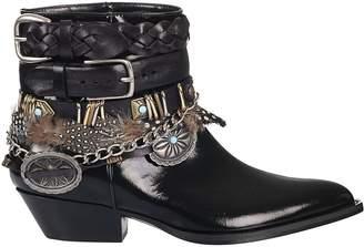 Philosophy di Lorenzo Serafini Buckled Trim Boots