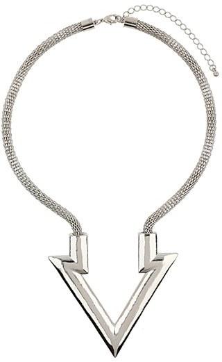 Topshop Arrow Pendant Necklace