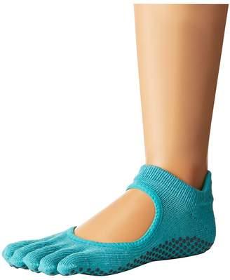 toesox Bellarina Full Toe w/ Grip Women's Crew Cut Socks Shoes