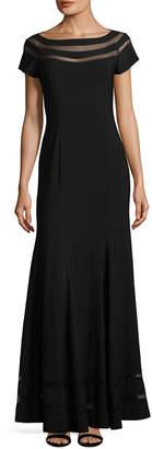 JS Collections Ottoman Mesh Dress