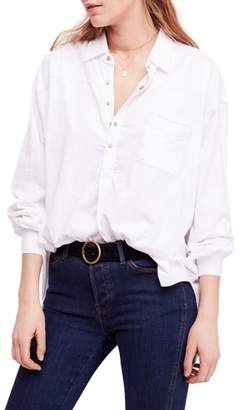 Free People Love This Cotton Henley Top