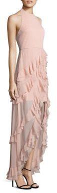 Alice + Olivia Carma Ruffle Hi-Lo Gown $695 thestylecure.com