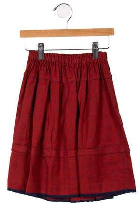 Caramel Baby & Child Girls' Check A-Line Skirt w/Tags
