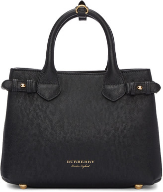 Burberry Black Small Banner Tote $1,295 thestylecure.com