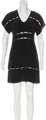 Vena Cava Silk Cutout Dress