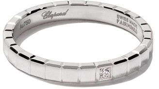 Chopard 18kt white gold Ice Cube Pure diamond ring