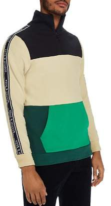 Scotch & Soda Quarter-Zip Track Top