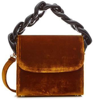 Marques Almeida Marques' Almeida Velvet Chain Shoulder Bag