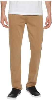 Paige Federal Slim Straight Leg Soft Comfort Stretch in Vintage Dark Camel Men's Jeans