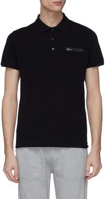 Fendi Sport 'Bag Bugs' tape polo shirt