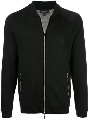 Giorgio Armani basic bomber jacket