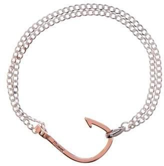 Miansai Hook on Sterling Silver Bracelet