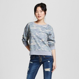 Mossimo Supply Co. Women's Crew Sweatshirt Camo Print - Mossimo Supply Co. $17.99 thestylecure.com