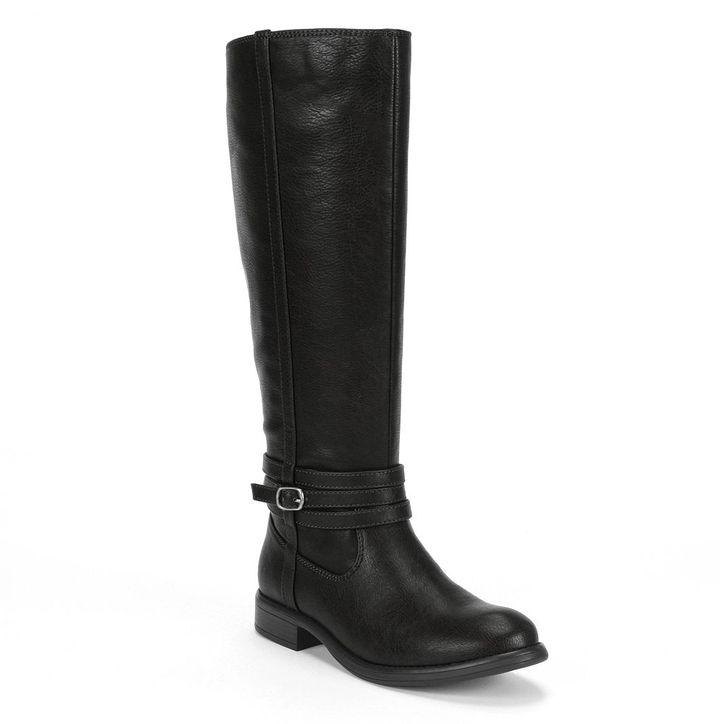 Lauren Conrad tall riding boots - women