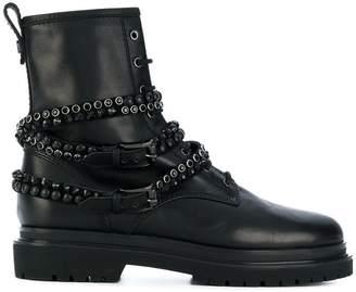 Baldinini studded stap boots