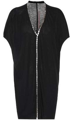 Rick Owens Lilies embellished tunic top