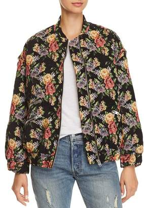 Iro . Jeans IRO.JEANS Amour Floral Bomber Jacket