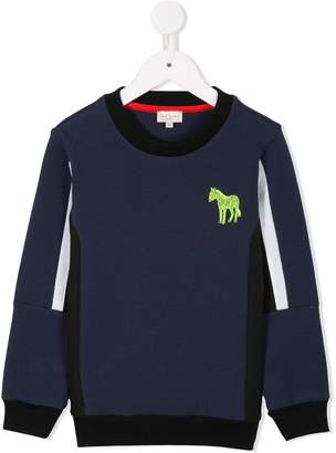 Paul Smith panelled sweatshirt