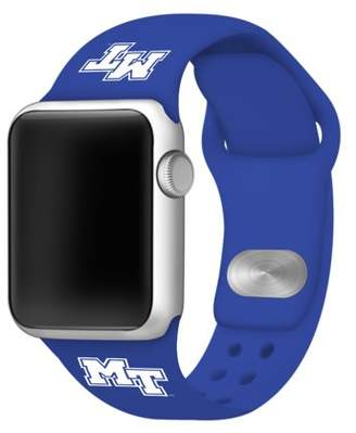 Affinity Bands Middle Tennessee State Silicone Sport Band for Apple Watch - 38mm