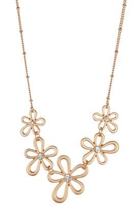 Olivia Welles Francesca Floral Necklace and Earring Set